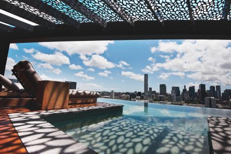 Rooftop Pool - Botanica Residences