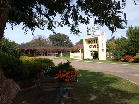 Entrance - Civic Motor Inn Cowra