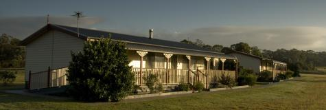 External View of the Cottages - Cottages on Lovedale