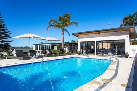 Swimming pool - Country Comfort Amity Motel