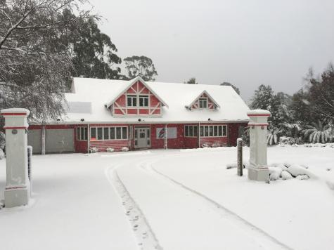 Snow At Cradle Forest Inn - Cradle Forest Inn