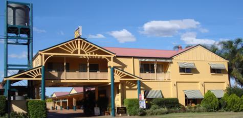 Street Frontage - Dalby Homestead Motel