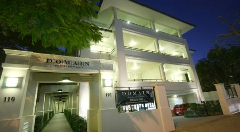 Domain entrance - Domain Serviced Apartments