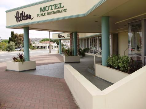 Reception entrance - Hilton Motel Port Lincoln