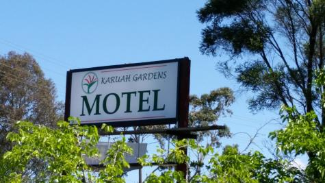 Look out for our Sign out the front - Karuah Gardens Motel