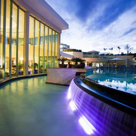Swimming Pool at night - Mantra Legends Hotel