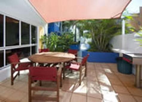 Courtyard - Myconos Resort