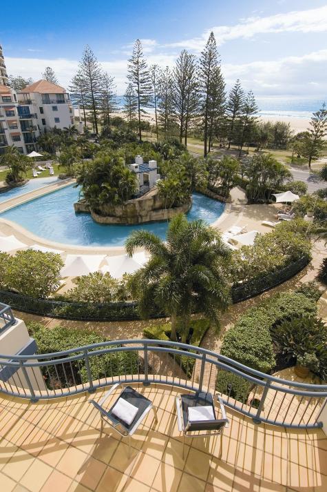 Pool Area - Oaks Calypso Plaza