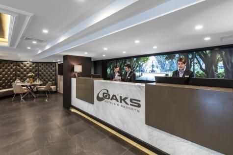 Reception - Oaks Hyde Park Plaza