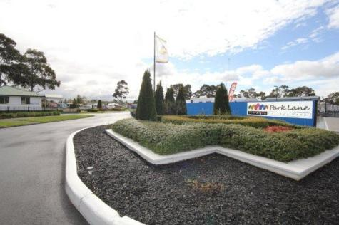 Entry to Park Lane Holiday Park - Traralgon Park Lane Holiday Park